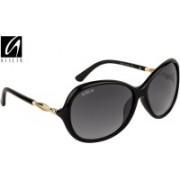 Aislin Over-sized Sunglasses(Black)