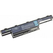 Baterie extinsa compatibila Greencell pentru laptop Packard Bell EasyNote LM82 cu 9 celule Li-Ion 6600mah
