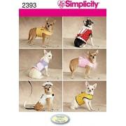 Creative Simplicity Patrón de Costura para Ropa y Chaquetas de Perro (Talla XXS a M)