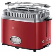 Grille-Pains 2 Fentes 1300w Rouge 21680-56 Retro