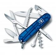 Briceag Victorinox Huntsman Albastru Transparent, 9.1cm