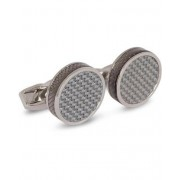 Tateossian Carbon Tablet Cufflinks Grey