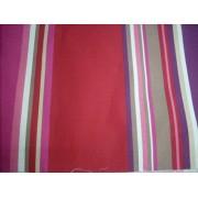 Mályva-bordó-lila csíkos vászon maradék 20x135cm/017/Cikksz:1231324