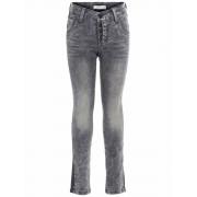 Name It! Jongens Lange Broek - Maat 134 - Grijs - Jeans