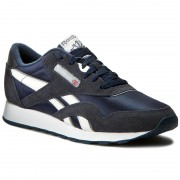 Обувки Reebok - Cl Nylon 39749 Team Navy/Platinum