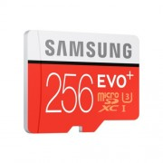 Micro SD Card, 256GB, Samsung EVO+ series, Class10, UHS-1 Grade1, Read 95MB/s, Write 90MB/s (MB-MC256DA/EU)