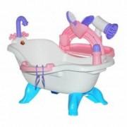 Set de baie pentru papusi cu accesorii Wader