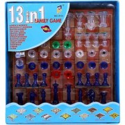 13 in 1 family chess ludo game