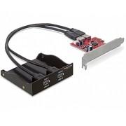 USB 3.0 előlapi panel PCI Express kártyával