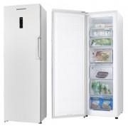 Congelator Heinner HFF-260NF+, no frost, A+, 260 litri, 7 sertare, alb