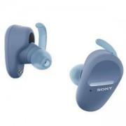 Слушалки Sony Headset WF-SP800N, blue, WFSP800NL.CE7
