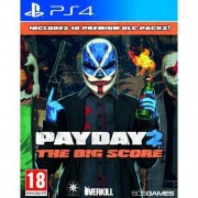 Payday 2 The Big Score, PS4 Base+DLC PlayStation 4 videogioco PS4SW5050007