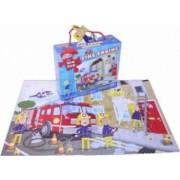 Puzzle de podea Grafix Pompieri in actiune 45 piese varsta recomandata: 3 ani+ Multicolor