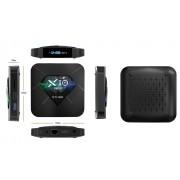 R TV BOX X10 PRO Smart Media Player 3D 4K HDR RAM 4GB ROM 64GB Android 8.1 Quad Core