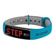 Sigma Pulsera de actividad SIGMA Activo (Bluetooth - Hasta 8 días de autonomía - Resistente al agua - Azul)