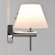Astro Roma Switched wandlamp exclusief G9 chroom 19x15x60cm IP44 staal A++ 0434