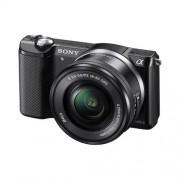 Sony A5000, 16-50mm, 20,1Mpix, bajonet E, čierna