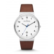 メンズ SKAGEN DENMARK ANCHER 腕時計 ホワイト