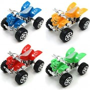 12pcs Pullback Motors Racers Dune Buggy Racing Pull-back ATV Vehicle Pull&Speed Motorbike,Novelty Toys,Kids Party Favors,Give Away Gifts