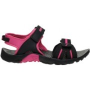 Puma Women Puma Black-Fuchsia Purple Sports Sandals