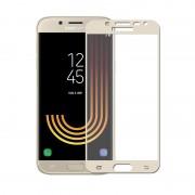 Folie din sticla temperata full size pentru Samsung J5 2016 - Gold