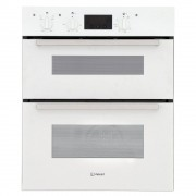Indesit IDU6340WH Double Built Under Electric Oven - White