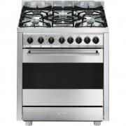 SMEG B7GMXI9 Cucina Master inox, 70x60 cm, Classe A