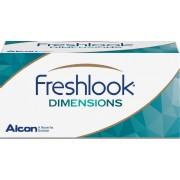 FreshLook DIMENSIONS Caribbean Aqua - 6 lenzen