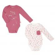 Petit Béguin Lot de 2 bodies bébé fille manches longues Little Farmer - Taille - 36 mois