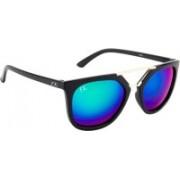Friendskart Clubmaster Sunglasses(Green)