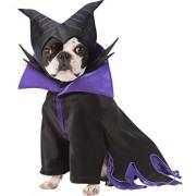 Rubie's Disney Disfraz de Maléfica para Mascotas, tamaño Grande