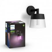 Philips Hue 17461/30/P7 LED venkovní nástěnné svítidlo Attract 1x8W RGB - White and Color Ambiance
