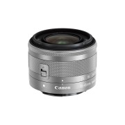 Canon EF-M 15-45mm f/3.5-6.3 IS STM Lens Silver