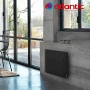 ATLANTIC Radiateur électrique Atlantic DIVALI - Horizontal 1000W - Pilotage Intelligent Connecté Lumineux GRIS - 507624