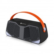 NR4021 Portable TWS Connection 10W Stereo Surround Bluetooth TV Speaker with Mic - Black