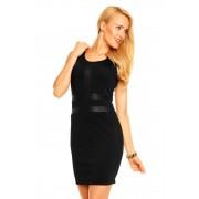 Černé dámské letní šaty V&F Paris