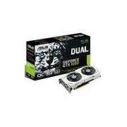 Placa de Vídeo VGA NVIDIA ASUS GEFORCE GTX 1060 3GB GDDR5, 192-Bits, VR Ready, Auto-Extreme, Wing-Blade Fans, DVI/2-HDMI/2-DP, DUAL-GTX1060-O3G