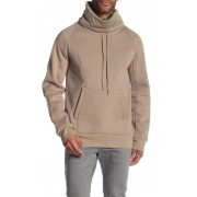 Helmut Lang Brushed French Terry Cowl Neck Hoodie NOMAD