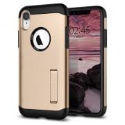 Spigen Slim Case Armure iPhone XR cas - Or