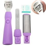 1 Set Double-side Foot File Rasp Scraping Knife Exfoliating Calluses Remover Pedicure Tools