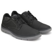 Clarks Tunsil Plain Black Casual For Men(Black)