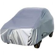 Autofurnish Silver Car Body Cover For Chevrolet Enjoy