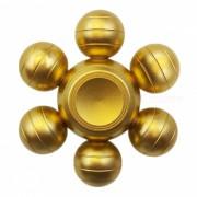 Dayspirit seis bolas de dragon Forma Gyro Fidget Hand Spinner-dorado