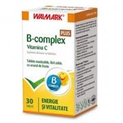 WALMARK B-COMPLEX plus VITAMINA C 30 tablete