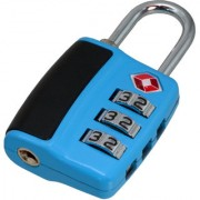 3 Digit Resettable TSA Travel Sentry Approved Own Password Travel Combination Security Padlock - 14 A