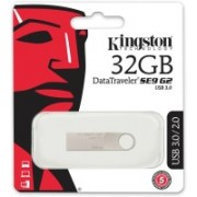 Kingston DataTraveler SE9 G2 USB 3.1 32 GB Pen Drive(Grey)