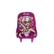 Mochila Escolar G De Rodinhas Barbie Super Princesa - Sestini