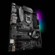 Дънна платка Asus Republic of Gamers STRIX B250F GAMING, B250, LGA 1151, DDR4, 2x PCI-E 3.0(DP/HDMI/DVI)(2Way CFX), 6x SATA 6Gb/s, 2x USB 3.0, 2x USB 3.1(Type A + C), 2x M.2 Sockets, ATX