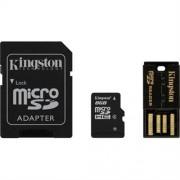 Kingston minneskort MicroSDHC + SDHC 8GB (Class 4)