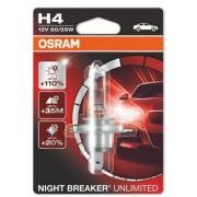 Bec OSRAM H4 Night Breaker Unlimiter 110% 12V 60/55W ManiaCars